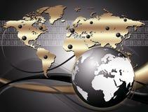 Concept d'Internet d'affaires Photo stock