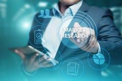 Concept d'Internet de technologie d'affaires de stratégie marketing de recherche de marché photographie stock