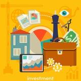 Concept d'investissement Photos libres de droits