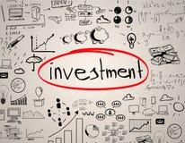 Concept d'investissement illustration stock