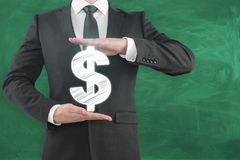 Concept d'investissement et de revenu Image stock