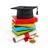 Concept d'obtention du diplôme Photos stock