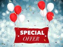 Concept d'offre spéciale Photos stock