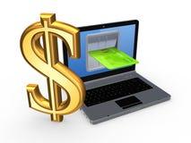 Concept d'opérations bancaires. Images stock