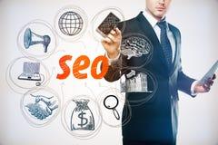 Concept d'optimisation de Search Engine Photo libre de droits