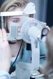 Concept d'optométrie Photographie stock libre de droits