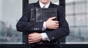 Concept d'un homme d'affaires soumis à une contrainte sous pression Crainte de la perte de travail photos libres de droits
