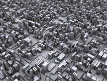 Concept d'une ville moderne Photos stock