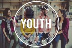 Concept d'unité de bonheur de la jeunesse d'amitié d'ami Images stock