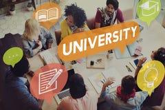 Concept d'université d'éducation de recherche universitaire image libre de droits