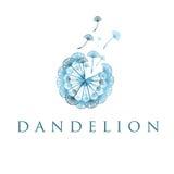 concept dandelion. Vector Royalty Free Stock Photo