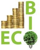 Concept, dat groene energie symboliseert Royalty-vrije Stock Foto