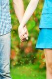 Concept dat van vriendschap en liefde is ontsproten Stock Fotografie