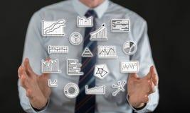 Concept of data analysis Stock Photo