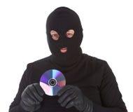 Concept of data thief Stock Photos