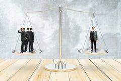 Concept de équilibrage Images libres de droits