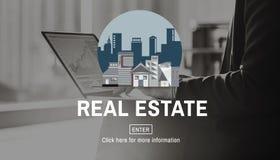 Concept de bâtiment de Real Estate d'architecture photos libres de droits