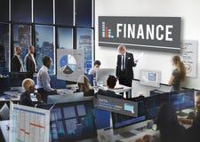 Concept de bénéfice d'argent de bénéfice d'opérations bancaires de finances Photo libre de droits