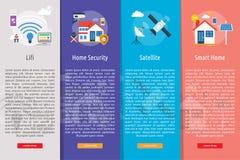 Concept de bannière de technologie illustration de vecteur