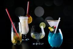 Concept de barre de cocktail Images libres de droits