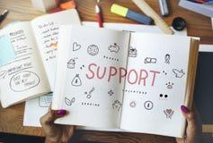 Concept de base de charité de donations de soutien photos libres de droits