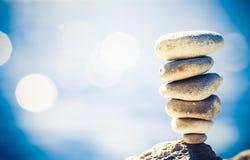 Concept de bien-être d'inspiration d'équilibre rétro Image libre de droits