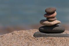 Concept de bien-être de station thermale d'équilibre Photos stock
