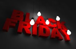 Concept de Black Friday Images stock