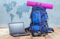 Concept de blog de voyage