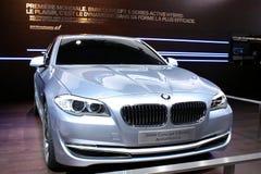 Concept de BMW 5 séries au Salon de l'Automobile 2010, Genève Images stock