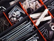 Concept de boîte à outils Photographie stock libre de droits