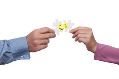Concept de bonheur Photo stock