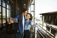 Concept de bonheur d'unité de datation d'amour de couples Photographie stock
