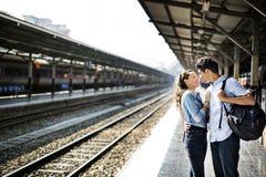 Concept de bonheur d'unité de datation d'amour de couples Photos stock