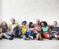 Concept de bonheur de loisirs d'unité d'amitié de personnes Photographie stock