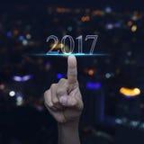 Concept 2017 de bonne année Images libres de droits