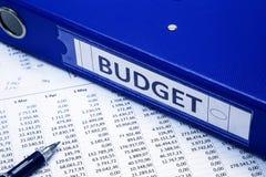 Concept de budget Images stock