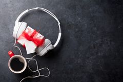 Concept de cadeau de musique Photo stock