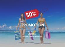 Concept de campagne d'étiquette de prix discount de promotion photo libre de droits