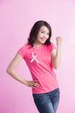 Concept de cancer du sein de prévention Images libres de droits