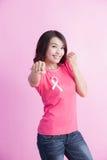 Concept de cancer du sein de prévention Photo libre de droits