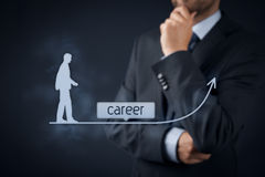 Concept de carrière image libre de droits