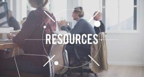 Concept de carrière d'affaires de main d'oeuvre de gestion des ressources Photographie stock libre de droits