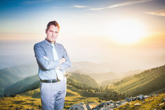 Concept de carrière professionnelle et plans futurs dans les affaires Photo stock