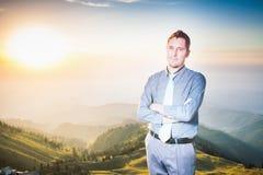 Concept de carrière professionnelle et plans futurs dans les affaires Images stock