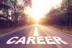 Concept de carrière Images libres de droits