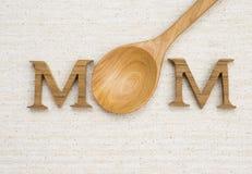 Concept de carte de jour du ` s de mère Photographie stock