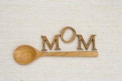 Concept de carte de jour du ` s de mère Image libre de droits