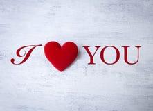 Concept de carte de jour du ` s de Valentine Image libre de droits