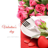 Concept de carte de St Valentine Image stock